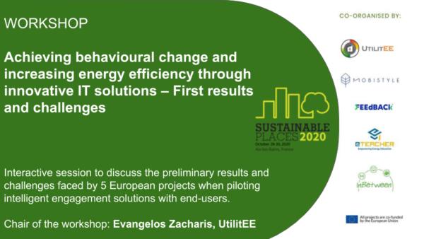 eTEACHER @ Sustainable Places 2020